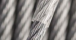PVC ummanteltes Edelstahlseil
